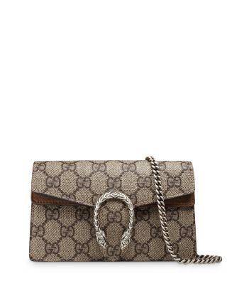 Dionysus Gg Supreme Super Mini Bag by Gucci