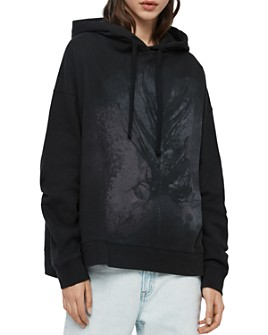 ALLSAINTS - Lo Feather Hooded Sweatshirt