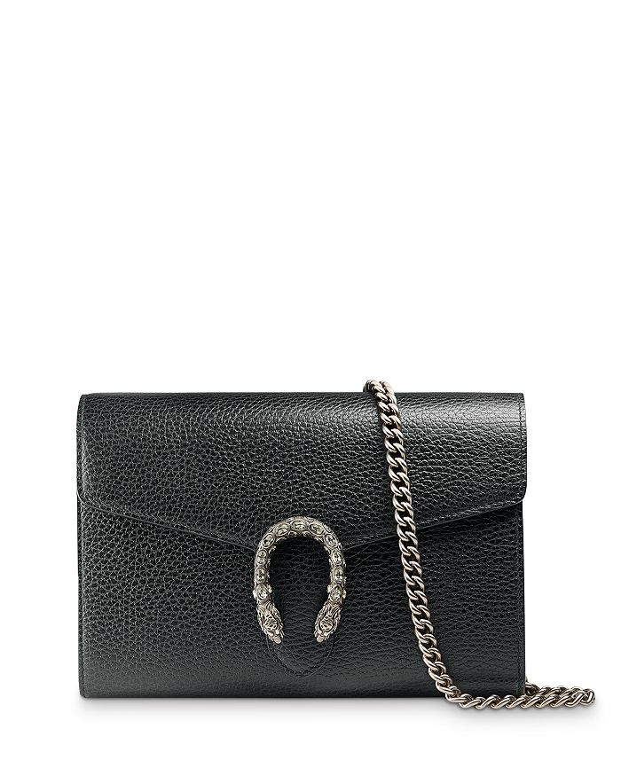 Gucci - Dionysus Leather Mini Chain Bag