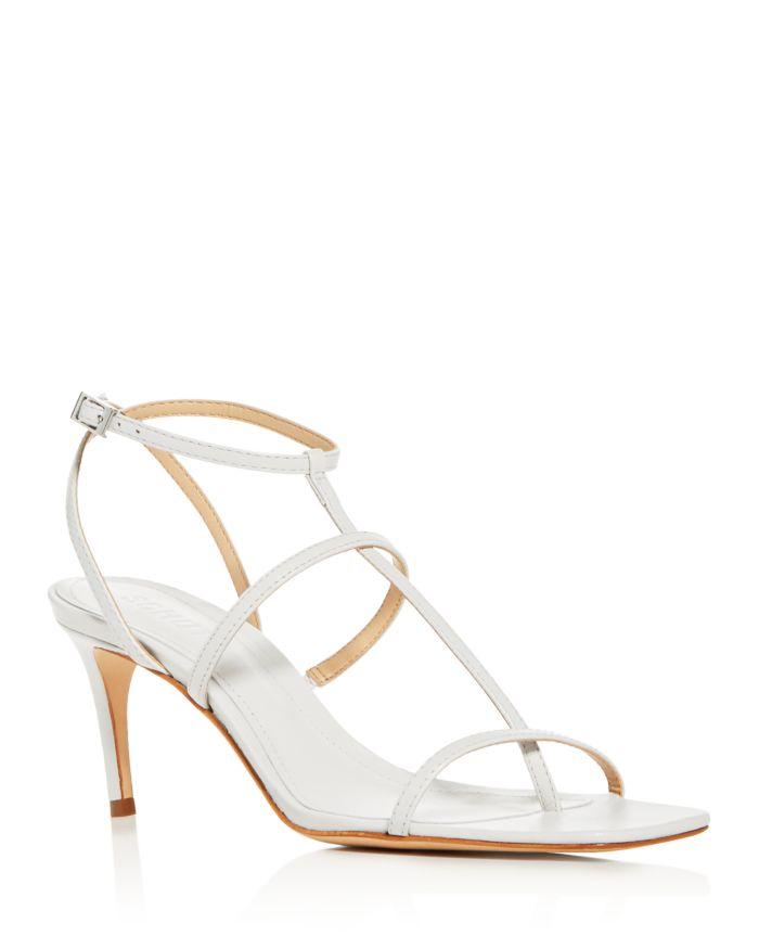 SCHUTZ Women's Ameena T-Strap High-Heel Sandals   | Bloomingdale's
