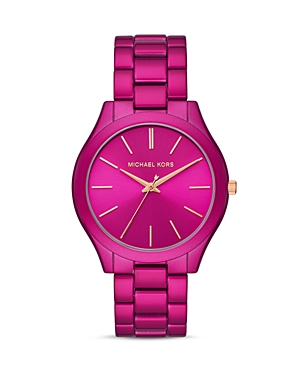 Michael Kors SLIM RUNWAY LINK BRACELET WATCH, 42MM