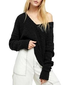 Free People - Finders Keepers Textured Sweater