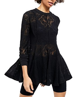 Free People - Coffee In The Morning Lace Tunic