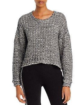 Lanston - Tahoe Cropped Sweater