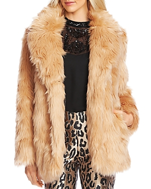 Vince Camuto Coats SHAGGY FAUX-FUR COAT