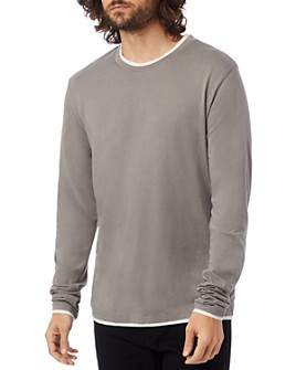 ALTERNATIVE - Double-Layered Long-Sleeve Tee