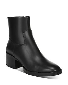 Via Spiga - Women's Ginerva Block-Heel Ankle Booties