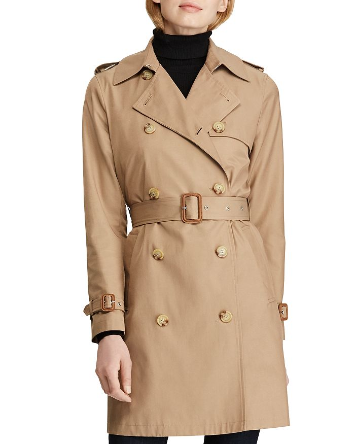 Ralph Lauren - Double-Breasted Trench Coat