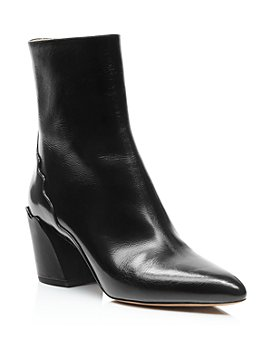 Chloé - Women's Laurena Pointed-Toe Booties