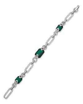 Ralph Lauren - Pavé Chain & Station Bracelet