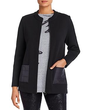 Nic+Zoe Sweater Puffer Jacket