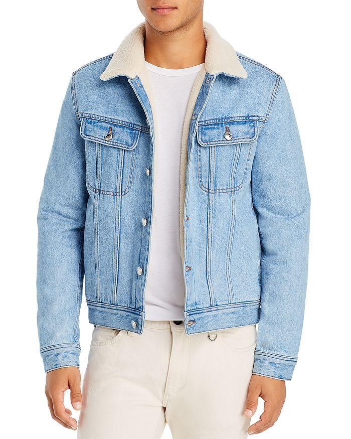 A.P.C. - Julien Sherpa Denim Regular Fit Jacket