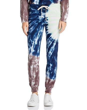 Monrow - Sunburst Tie-Dye Sweatpants