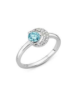 Lightbox Jewelry - Blue Moon Lab-Grown Diamond Ring in Sterling Silver