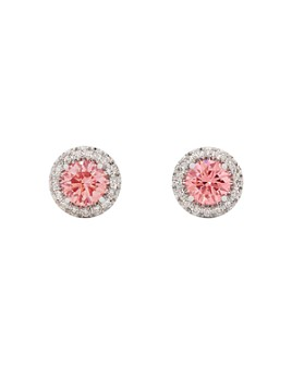 Lightbox Jewelry - Halo Lab-Grown Diamond Stud Earrings