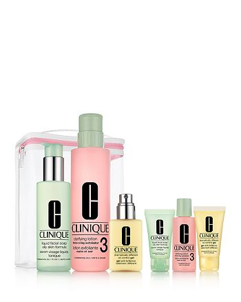 Clinique - Great Skin Anywhere Gift Set - Combination Oily, Oily Skin ($98 value)