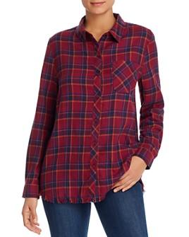 BeachLunchLounge - Elyse Flannel Plaid Shirt