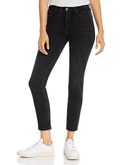 Anine Bing - Black Stone Jagger Jeans in Vintage Black