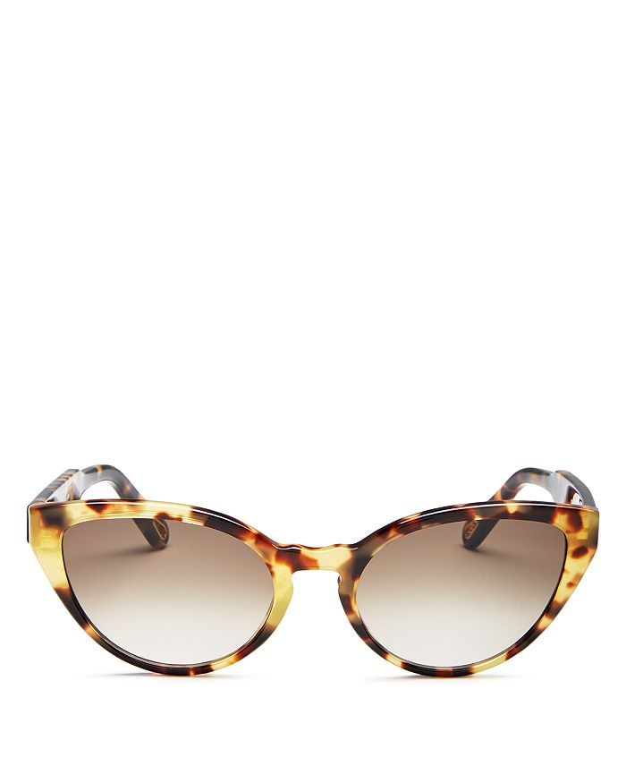 Chloé - Women's Willow Cat Eye Sunglasses, 55mm