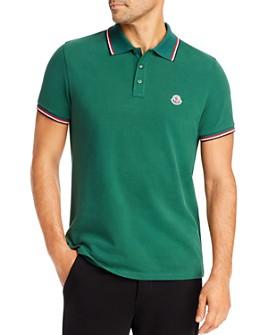 Moncler - Flag Trim Polo Shirt