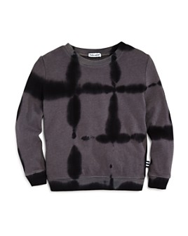 Splendid - Boys' Tie-Dye Grid Sweatshirt - Little Kid
