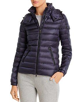 Moncler - Bleu Hooded Down Coat