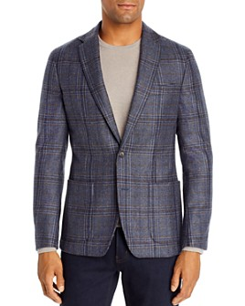 Dylan Gray - Checked Classic Fit Blazer