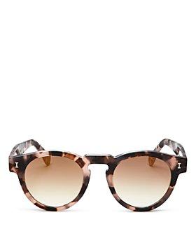 Illesteva - Unisex Leonard Round Sunglasses, 48mm