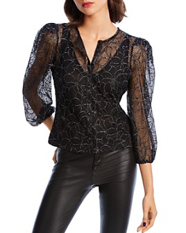 LINI - Madison Puff-Sleeve Embroidered Top - 100% Exclusive