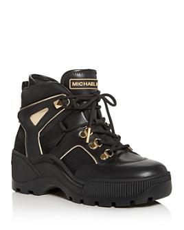 MICHAEL Michael Kors - Women's Brooke Platform Sneaker Booties