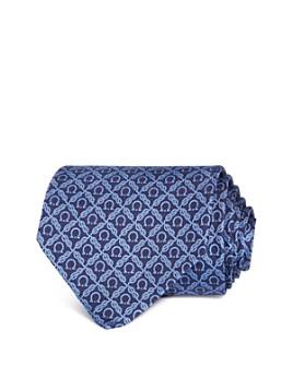 Salvatore Ferragamo - Roped Gancini Silk Classic Tie