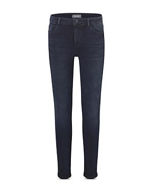 DL1961 Girls\\\' Chloe Metallic Stripe Skinny Jeans - Big Kid-Kids