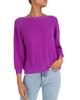 ba&sh - Cramy Twist-Back Cashmere Sweater