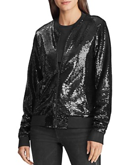 Ralph Lauren - Sequined Bomber Jacket