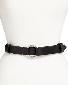 rag & bone - Women's Arc Circle Leather Belt