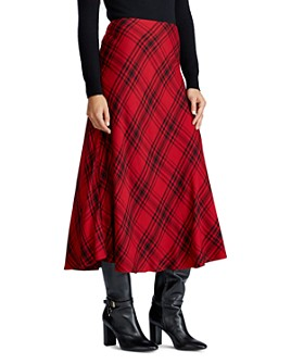 Ralph Lauren - Plaid Midi Skirt