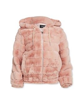 Bardot Junior - Girls' Quilted Faux Fur Jacket - Baby