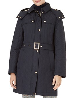 HOBBS LONDON - Poppy Quilted Coat