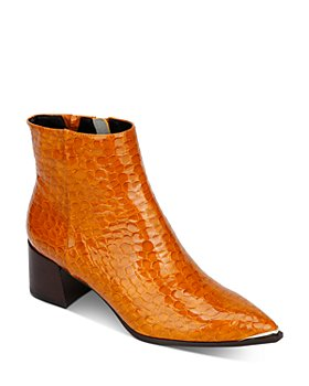 Kenneth Cole - Women's Roanne Croc-Embossed Booties