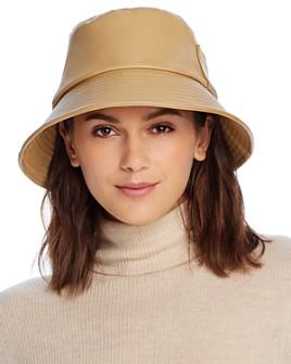 Lack of Color - Wave Faux Leather Bucket Hat