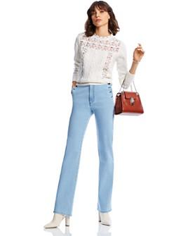 LINI - Caroline Lace-Inset Sweater - 100% Exclusive