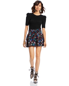 LINI - Lyla Floral Mini Skirt - 100% Exclusive