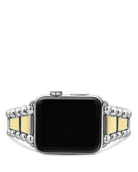 LAGOS - Smart Caviar Stainless Steel 18K Gold Apple™ Watch Bracelet, 42-44mm