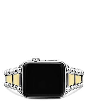 Lagos Smart Caviar Apple Watch Bracelet, 42mm