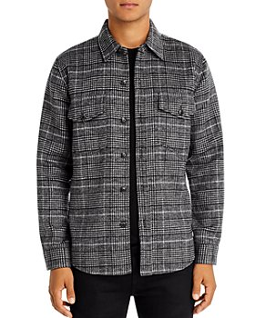 7 For All Mankind - Regular Fit Plaid Shirt Jacket