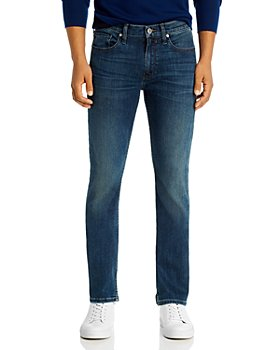 PAIGE - Federal Slim Straight Jeans in Dashiel