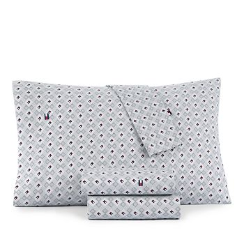 Tommy Hilfiger - Flag and Dots Sheet Set, Twin XL