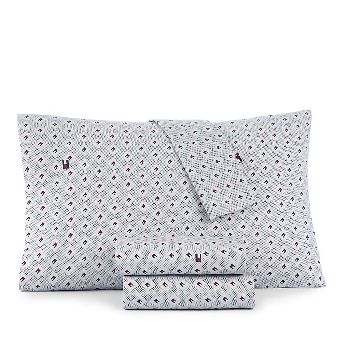 Tommy Hilfiger - Flag and Dots Sheet Set