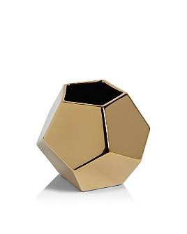 Global Views - Medium Faceted Vase