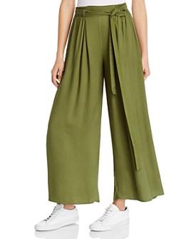 Rosie G - Belted Wide-Leg Pants